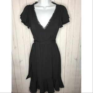 White House Black Market Size XS Black Dress